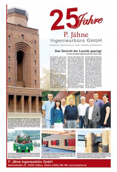 Märkische Bote - 25 Jahre P. Jähne Ingenieurbüro GmbH